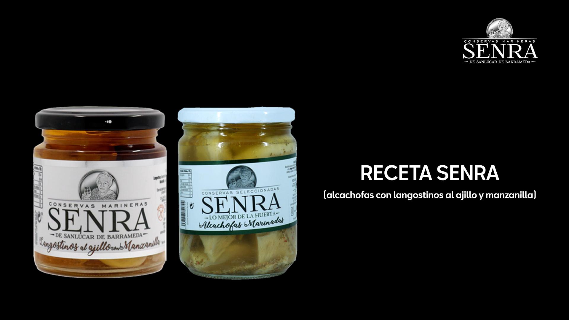 alcachofas con jamon y gambas recetas senra
